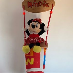 Vintage Minnie Mouse Hand Towel Hanger